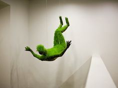 lifes of grass : MATHILDE ROUSSEL-GIRAUDY #sculpture