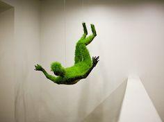 lifes of grass : MATHILDE ROUSSEL-GIRAUDY #sculpture