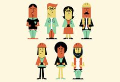 Infographic Character Illustrations #illustration #character