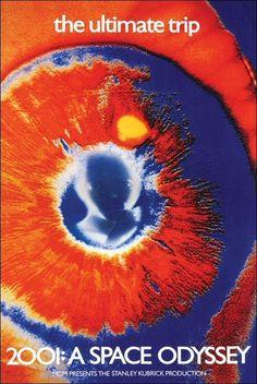 2001: A Space Odyssey, Stanley Kubrick, Mike Kaplan #movie #poster #film