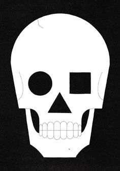 Ryan Todd +44 (0)7966 846471 #illustration #graphic #skull #circle triangle square