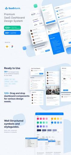 SaaSdunk – SaaS Dashboard UI Kit