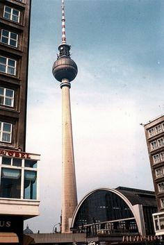 Berlin, germany #1990 #berlin #east #alexanderplatz