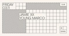 RA Tickets: Jamie xx, Young Marco at De School, Amsterdam