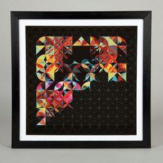 Petal Grid #grid #print #pattern #petals