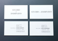 THEARTISTANDHISMODEL » Studio Daminato by &Larry #stationery
