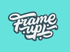 Frame up! by Nick Cooper