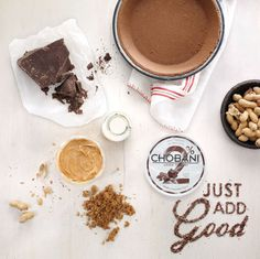 // Chobani 'Just Add Good' on Behance #photography #food #ad