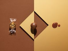 Caramel Chocolate Photography by NIKLAS ALM for Lindt