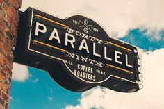 Roger Dario — 49th Parallel #logo #neon