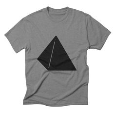 Shapes Pyramid by Rickard Arvius #tshirt #fashion #vectorart #threadless #apparel #minimalistic #minimalism #pyramid #geometric