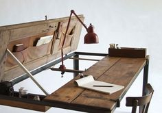Manoteca Indoor Table/Desk | Trendland: Fashion Blog & Trend Magazine #desk #table