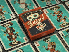 Fuego! Day of the Dead Playing Cards