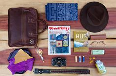 essentials will adler of will leather goods 1.jpg (1280×853) #bag #grid #hat #books