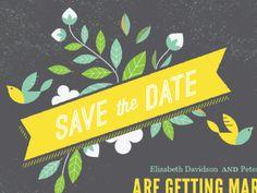 Save the Date #ross #bruggink