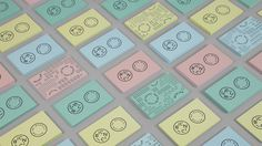 bicnic by toormix branding colorful playful beautiful minal stationery corporate design mindsparkle mag business card logo logotype packagin