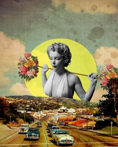 #collage #marylin