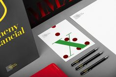 Allegheny Financial on the Behance Network #corporate #letterhead #identity #typography