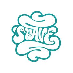 Suave Lettering Collection on Behance by Sergi Delgado