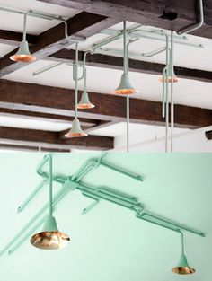 Forest Light by ontwerpduo #lamp #pipe