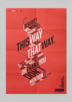 Tumblr #poster #typography