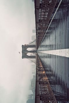 CJWHO ™ (Brooklyn Bridge in Fog, 2012 by James...)