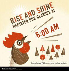 bradwoodarddesign #design #illustration #poster #morning #rooster
