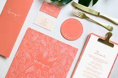 Georgie Restaurant Branding by Sandy Ley #menu #restaurant #branding #coaster #businesscard #identity