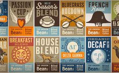 Design Work Life » cataloging inspiration daily #packaging #design #coffee