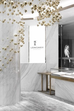 Lonshry Jewelry Art Store - Flowing Bubbles, AD Architecture 8