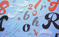 Super a new brush typeface by Resistenza.es #calligraphy #lettering #fresh #brush #type