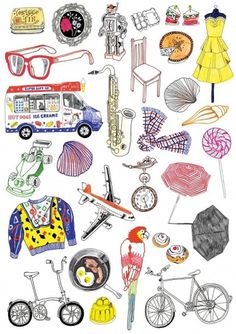 Objects | Hennie Haworth #illustration