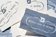 Bird on a Wire Identity Materials - FPO: For Print Only