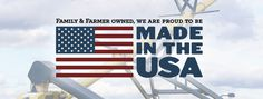 Made in the USA  #Farmer #USA #America #Agriculture #Manufactured #MadeInTheUSA