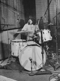 Drummerworld: John Bonham #drums #moustache