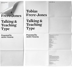 Talking & Teaching Type | Shiro to Kuro #typography