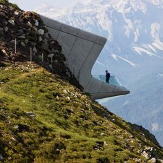a museum for Reinhold Messner - Zaha Hadid