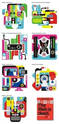 fernando volken togni #illustration #wired #editorial #magazine