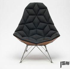 Tile Chair byJonas Søndergaard Nielsen #chair #industrial #product