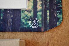 Olivia King via www.mr cup.com #invite #branding #system #illustration #logo