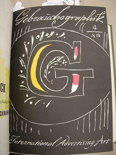Gebrauchsgraphik 1950 04 Cover on Flickr - Photo Sharing!
