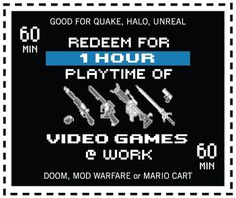 The Gaming Coupon | Flickr - Photo Sharing! #coupon #quake #mario #unreal #doom #video #gaming #games #halo