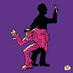 Dr Jekyll and Mr HIde #illustration