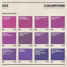Colortones Mixtape #002 | Colorcubic