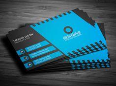 Flat Corporate Business Card Template