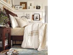 Room Decorating Ideas, Room Décor Ideas & Room Gallery | Pottery Barn #interior #frames #bedroom