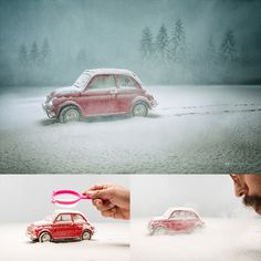Photographer Uses An Amazing Technique To Make Miniature Dream World