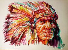 Watercolor portraits by Arthit Lertlalitkul