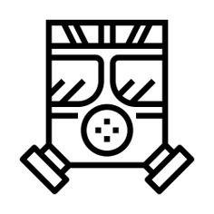 See more icon inspiration related to mask, gas mask, respirator, biological hazard, industry, fashion and security on Flaticon.