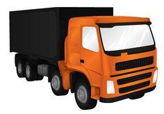 Heavy Machinery on the Behance Network #machinery #illustration #orange #transportation